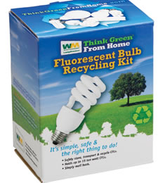 Flourescent Bulb Recycling Kit