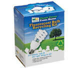 Compact Fluorescent Recycling Kit